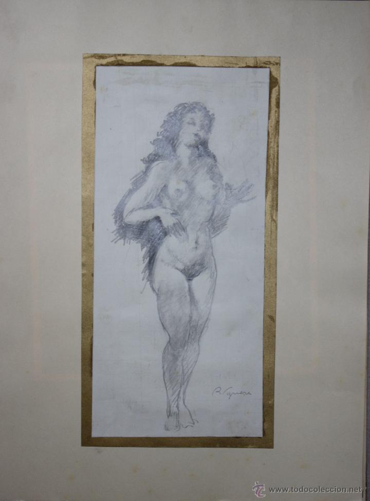 Arte: LIBRO ARTISTA BILBAINO RAFAEL FIGUERA. 12 ORIGINALES DE DESNUDOS. AÑOS 60 - Foto 7 - 47718923
