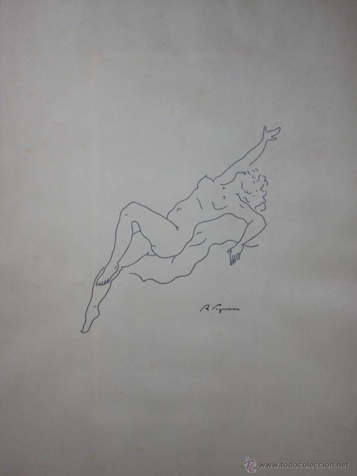 Arte: LIBRO ARTISTA BILBAINO RAFAEL FIGUERA. 12 ORIGINALES DE DESNUDOS. AÑOS 60 - Foto 10 - 47718923