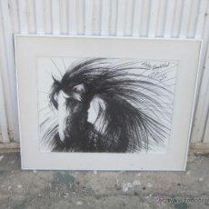 Arte: DANIEL LUI - DIBUJO TINTA, FIRMADO FECHADO Y DEDICADO. Lote 47787566