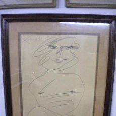 Arte: ANTONI XAUS 1991 , DIBUJO A LAPIZ, DESNUDO FEMENINO.. Lote 48103348