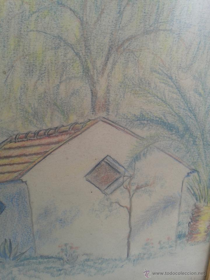 murcia dibujo enmarcado baños de fortuna. p. gu - Comprar Dibujos ...