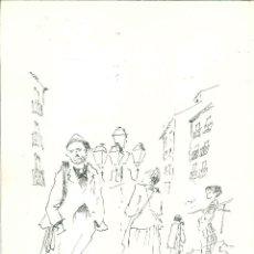 Arte: CABECERA DEL RASTRO POR EDUARDO VICENTE. Lote 58417427
