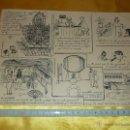 Arte: VIÑETAS DE HUMOR ORIGINALES AÑOS 60-70 VER FOTOS. Lote 48415382