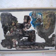 Arte: PERE MARTIR VIADA, TECNICA MIXTA SOBRE PAPEL.. Lote 48581656