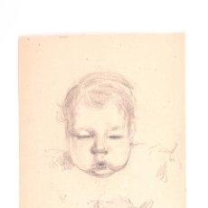 Arte: DIBUJO A LAPIZ FERRATER 1920. Lote 48627974