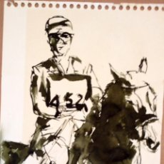 Arte: LE MONZO - JORGE MONZO BERGE - TINTA SOBRE PAPEL 41 X 30 CMS. Lote 80600500