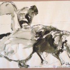 Arte: LE MONZO - JORGE MONZO BERGE. - PASE TAURINO 41 X 30 CMS AÑO 2009. Lote 48696805
