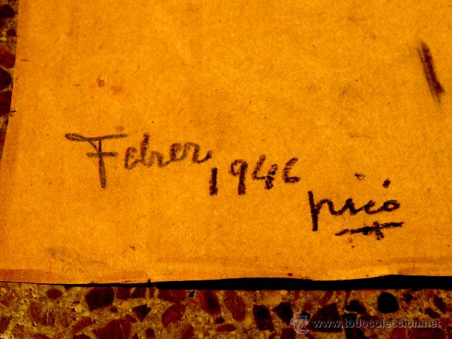 Arte: dibujo de calidad de Hernan Pico.1946 - Foto 5 - 48909890