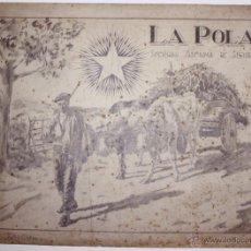 Arte: DIBUJO ORIGINAL EN CARBONCILLO REALIZADO POR LA COMPAÑIA DE SEGUROS LA POLAR. BILBAO. Lote 49214692