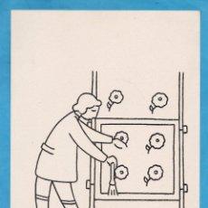 Arte: DIBUJO ORIGINAL - OFICIOS Y TRABAJOS DE ANTAÑO - JARDINERO - AUT. A. FERRAN - AÑOS 50. Lote 49987872