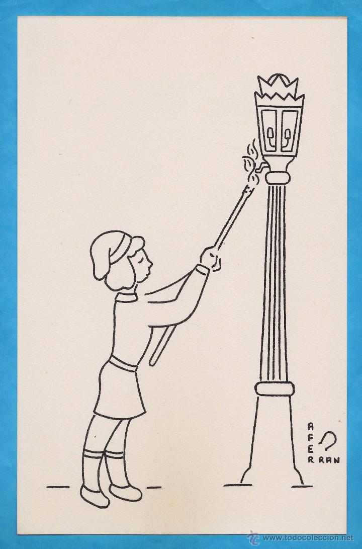 dibujo original  oficios y trabajos de antao  Comprar Dibujos