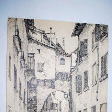 Arte: MALLORCA. ARCO DE LA CALLE DE LA ALMUDAINA EN PALMA DE MALLORCA.. Lote 50325182