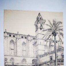Arte: MALLORCA. CLAUSTRO DE SAN FRANCISCO EN PALMA DE MALLORCA. Lote 50325200