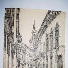 Arte: MALLORCA. CALLE DE MOREY EN PALMA DE MALLORCA. Lote 50325275