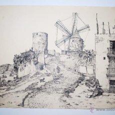 Arte: MALLORCA. MOLINOS EL FORQUET EN PALMA DE MALLORCA. Lote 50325336