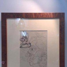 Arte: DIBUJO A DOS CARAS DEL PINTOR RAMON SANVICENS.. Lote 50559540