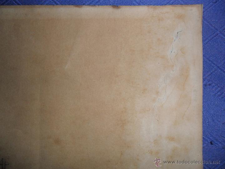 Arte: ANTIGUO DIBUJO FIRMADO Y FECHADO H. RIVERE 1902. IGLESIA AL LADO DE RIO, MEDIDAS 38X43 CM. - Foto 4 - 50629350