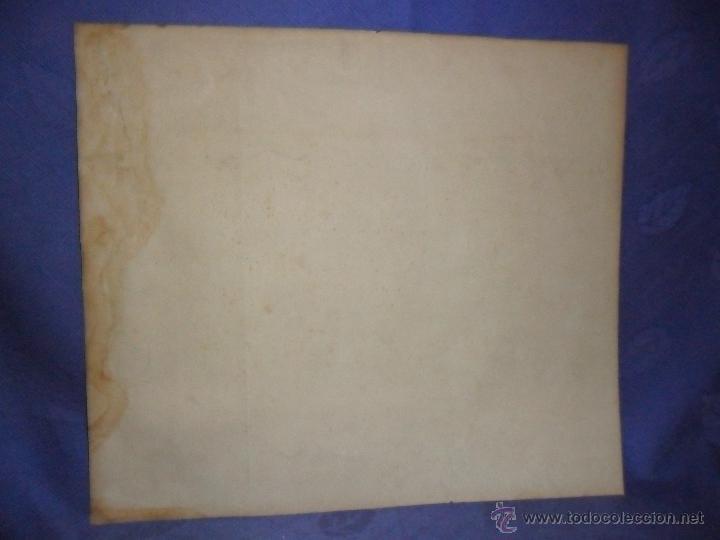 Arte: ANTIGUO DIBUJO FIRMADO Y FECHADO H. RIVERE 1902. IGLESIA AL LADO DE RIO, MEDIDAS 38X43 CM. - Foto 5 - 50629350