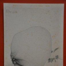 Arte: JEAN PIERRE VAN OUDENHOVE DIBUJO ORIGINAL A GRAFITO . Lote 50650979