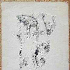 Arte: RAFAEL BEJARANO (MALAGA), INTERESANTE DIBUJO ORIGINAL VINTAGE A TINTA FIRMADO. Lote 50750166
