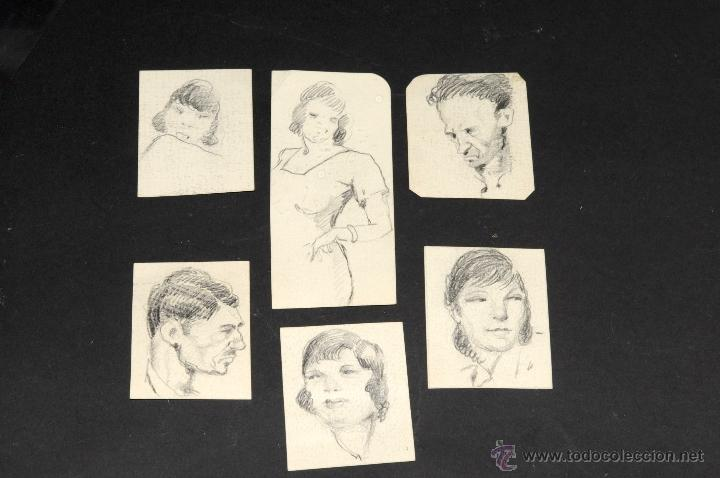 ANTIGUOS DIBUJOS A LAPIZ (Arte - Dibujos - Contemporáneos siglo XX)