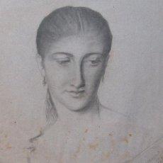 Arte: DIBUJO LÀPIZ, FIRMADO PIO ESPARZA 1892. Lote 51016520