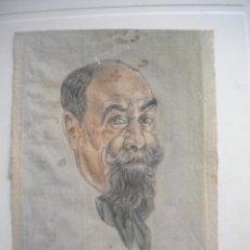 Arte: RETRATO A JOAQUIN MIR, SOBRE PAPEL 1920'S.. Lote 51098639