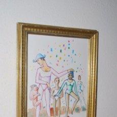 Arte: DIBUJO ORIGINAL - TINTA, LÁPIZ Y ACUARELA - MANFER - MANUEL FERNÁNDEZ LÓPEZ - 1993. Lote 51166236