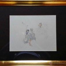 Arte: JORGE CASTILLO CASALDERREY: PERSONAJES DE OTTO RUNGE, 1979 / DIBUJO ÚNICO FIRMADO Y FECHADO A LÁPIZ. Lote 51488550