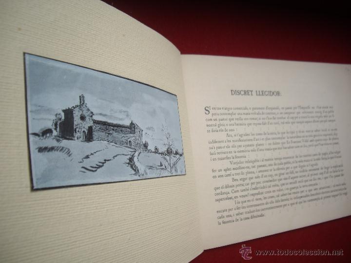 Arte: MASIES DEL BAIX-EMPORDÀ, 25 dibujos de Francisco Vidal + 2 láminas. Ed.Octavi Viader impressor 1923 - Foto 3 - 51628450