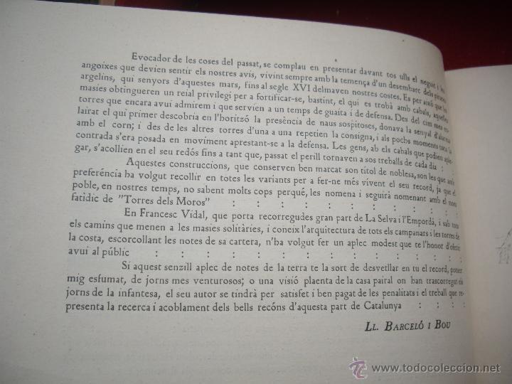 Arte: MASIES DEL BAIX-EMPORDÀ, 25 dibujos de Francisco Vidal + 2 láminas. Ed.Octavi Viader impressor 1923 - Foto 5 - 51628450