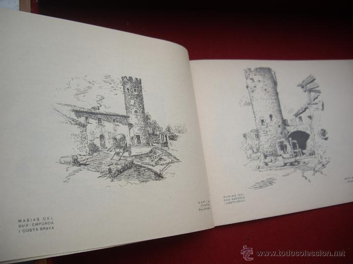 Arte: MASIES DEL BAIX-EMPORDÀ, 25 dibujos de Francisco Vidal + 2 láminas. Ed.Octavi Viader impressor 1923 - Foto 7 - 51628450