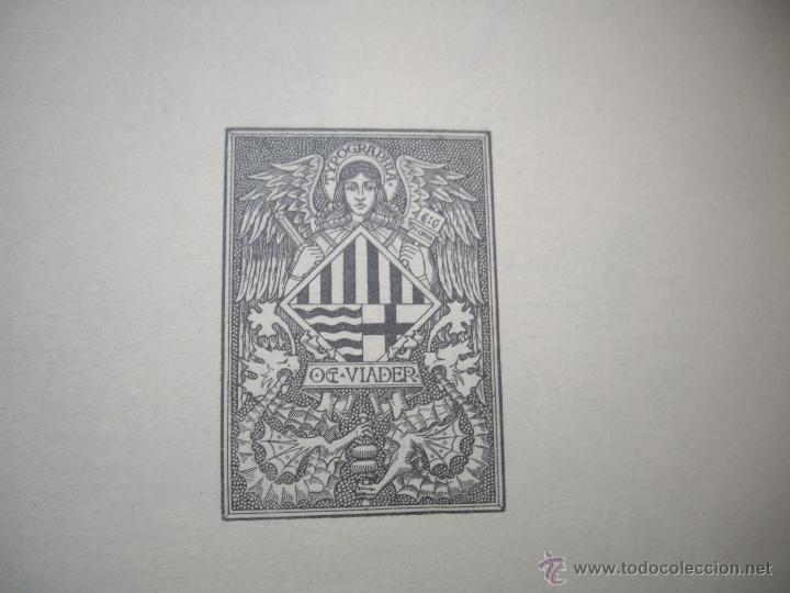 Arte: MASIES DEL BAIX-EMPORDÀ, 25 dibujos de Francisco Vidal + 2 láminas. Ed.Octavi Viader impressor 1923 - Foto 8 - 51628450