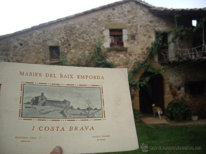 Arte: MASIES DEL BAIX-EMPORDÀ, 25 dibujos de Francisco Vidal + 2 láminas. Ed.Octavi Viader impressor 1923 - Foto 11 - 51628450