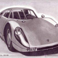 Arte: DIBUJO HIPERREALISTA (AUTOMÓVIL). * PORSCHE 904 GTS 1963-1964 * (LÁPIZ). DE D. NAVASCUÉS.. Lote 51740062