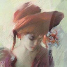 Arte: BERTRAN E. PRECIOSO DIBUJO AL PASTEL. Lote 52447956