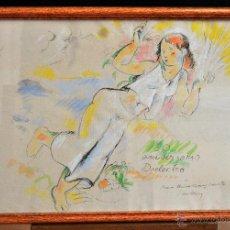 Arte: JAUME CARBONELL CASTELL (BARCELONA, 1942 - 2010) TÉCNICA MIXTA SOBRE PAPEL. Lote 52499598