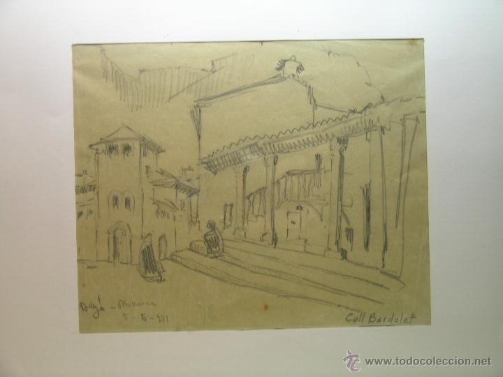 Arte: Dibujo de Coll Bardolet - Deyá - Foto 2 - 52713008