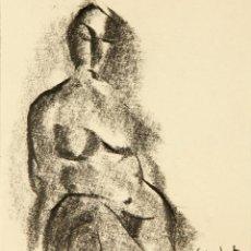 Arte: DIBUJO CASACUBERTA CODINACH, CON MARCO. Lote 52845875