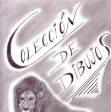 Arte: DIBUJO HIPERREALISTA (ANIMALES VARIOS). * LEÓN/PORTADA * (LÁPIZ). DE D. NAVASCUÉS.. Lote 52899865