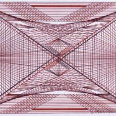 Arte: DIBUJO (ABSTRACCIÓN GEOMÉTRICA). * COMPOSICIÓN GEOMÉTRICA 1 * (BOLÍGRAFO). DE D. NAVASCUÉS.. Lote 52967909