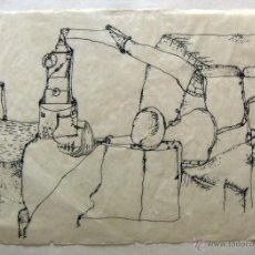 Arte: DIBUJO FIRMADO A.F.MOLINA. Lote 53272930