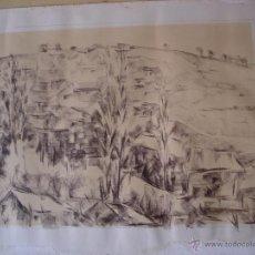 Arte: URGE VENTA. PASCUAL. DIBUJO DE PAISAJES CON CASAS. Lote 75238338
