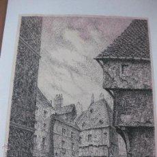 Arte: ORIGINAL DE JULI PASCUAL. 45 X 30 CM.. Lote 53450114