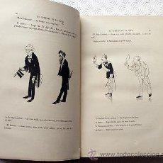 Arte: CARAN D'ACHE: ´LA COMÉDIE DU JOUR SOUS LA RÉPUBLIQUE ATHÉNIENNE´.1889. NUMEROSAS ILUSTRACIONES. ARTE. Lote 53631321