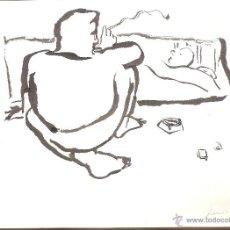 Arte: PERICO PASTOR (LA SEU D'URGELL, LLEIDA, 1953). TINTA/PAPEL. 27 X 21'5 CMTRS. 1983.. Lote 53636588