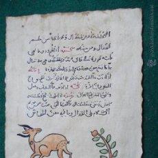 Arte: COPIA A MANO DEL ORIGINAL MEDICINA ÁRABE ANDALUSÍ. Lote 53719430
