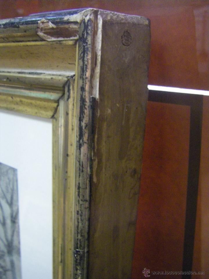 Arte: dibujo a lápiz carboncillo francés del siglo XIX - Foto 17 - 53747613