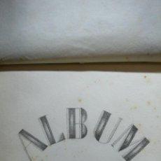 Arte: J. FARGAS. ÁLBUM DE DIBUJO. ÁLBUM APAISADO CON 38 DIBUJOS ORIGINALES A LÁPIZ. C. 1860. . Lote 53750617