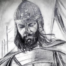 Arte: CABALLERO SARRACENO DEL SIGLO XII CON ARMADURA. Lote 53885723